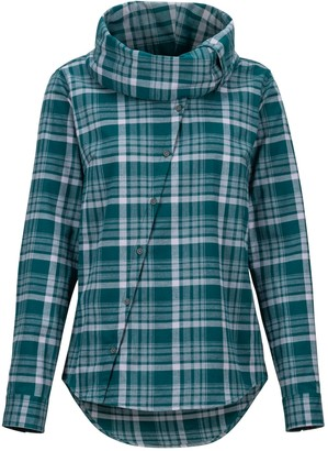Marmot Women's Aldasoro Lightweight Flannel Long-Sleeve Shirt