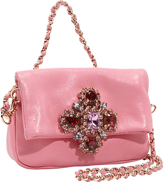 Juicy Couture Luxe Rocks Leather Scarlett Shoulder/Clutch