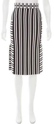 Tanya Taylor Striped Camilla Skirt