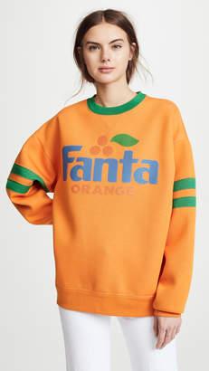 Marc Jacobs Fanta Sweatshirt with Long Sleeves & Crew Neckline
