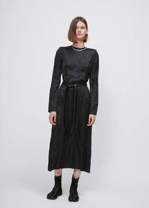 Maison Margiela Long Sleeve Belted Dress