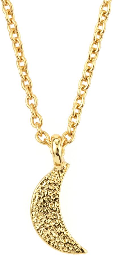 Gorjana Crescent Moon Necklace