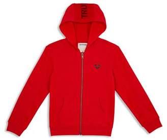 True Religion Boys' Logo Hoodie - Little Kid, Big Kid