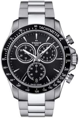 Tissot V8 Chronograph Bracelet Watch, 43mm