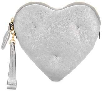 Anya Hindmarch Chubby Heart clutch bag