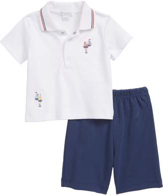 Kissy Kissy Summer Sails Bermuda Polo Shirt & Shorts Set
