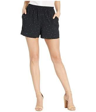 Kensie Celestial Stars Elastic Waistband Shorts KS6K1258