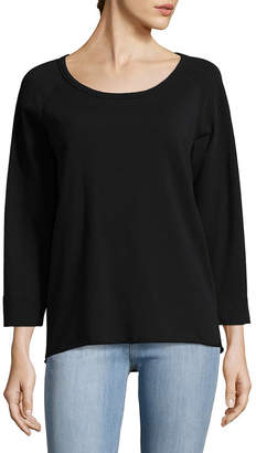 James Perse Reverse Edge Pullover
