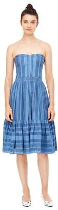 Rebecca Taylor La Vie Gauzy Stripe Dress