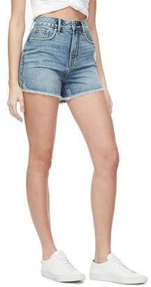 Good American Bombshell High-Rise Shorts - Inclusive Sizing