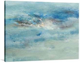 The Canvas Workshop Blue Reach Canvas Print