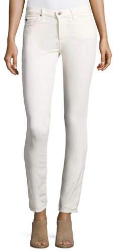 AG JeansAG Prima Mid-Rise Cigarette Jeans, Powder White