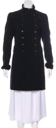Akris Wool Double-Breasted Coat