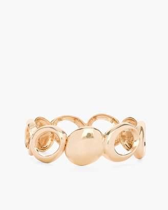 Chico's Chicos Sleek Gold-Tone Stretch Bracelet