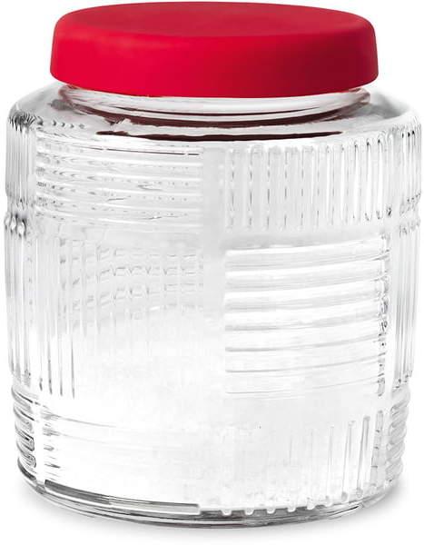 Rosendahl - Nanna Ditzel Aufbewahrungsglas 0,9 l, Rot