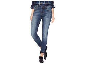 KUT from the Kloth Connie Ankle Skinny Released Front Jeans in Emphatic