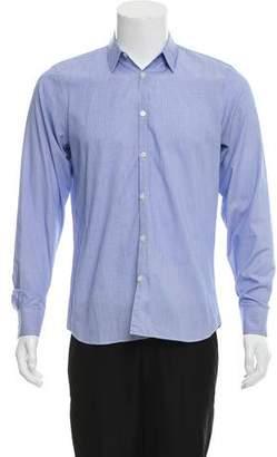 Calvin Klein Collection Medium Fit Striped Button-Up Shirt
