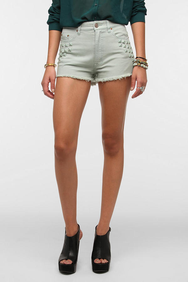 BDG High-Rise Studded Cheeky Short