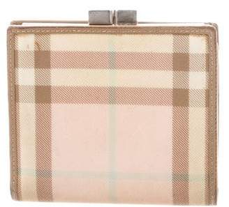 Burberry House Check Compact Wallet