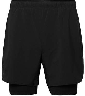 Reigning Champ Performance Perforated Stretch-Shell Shorts - Black