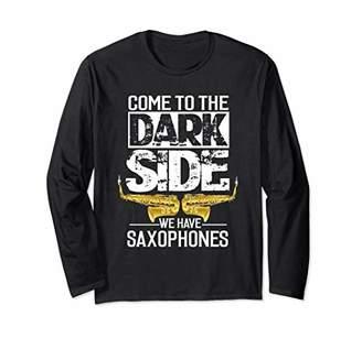 Saxophone Long Sleeve Shirt Saxophone Player Shirt