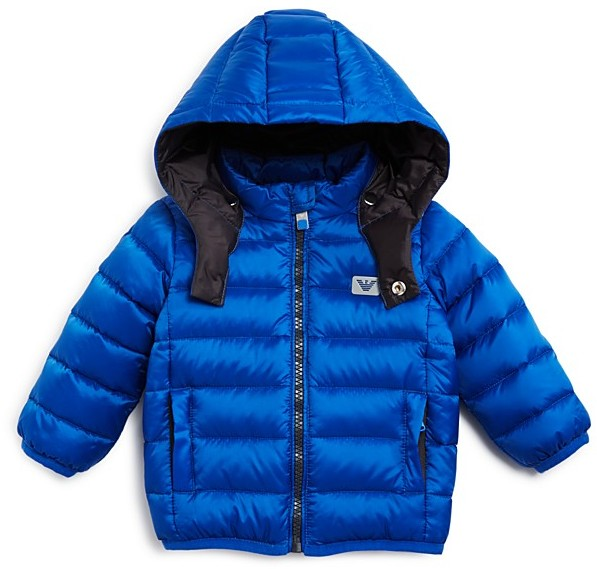 Armani Junior Armani Boys' Down Puffer Jacket - Baby