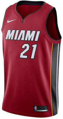 Nike Men Hassan Whiteside Miami Heat Statement Swingman Jersey