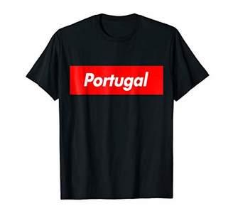 Portugal Box Logo Souvenir T-Shirt