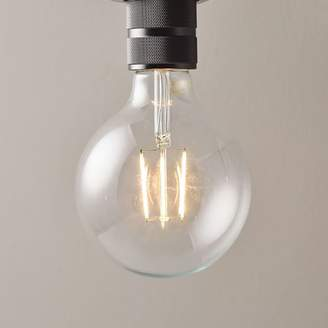 west elm LED Light Bulb - Clear Large Globe