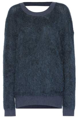 Thierry Mugler Mohair and wool-blend sweater