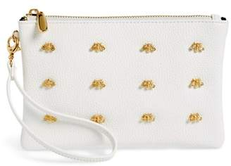Sondra Roberts Bee Faux Leather Wristlet