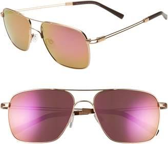 aaa87e6d41696d Maui Jim Haleiwa 56mm Mirrored Polarized Navigator Sunglasses