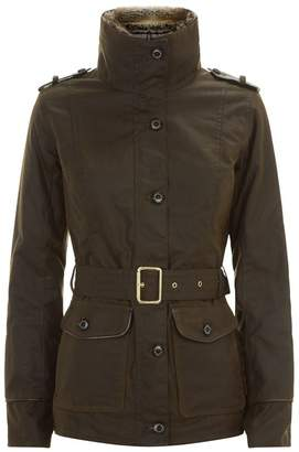 Barbour Stirling Waxed Cotton Jacket