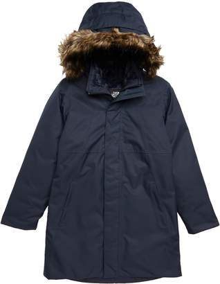 The North Face Arctic Swirl Waterproof 550-Fill-Power Down Parka