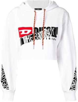 Diesel HC-F-DINIE cropped hoodie