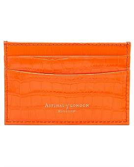 Aspinal of London Slim Leather Credit Card Case