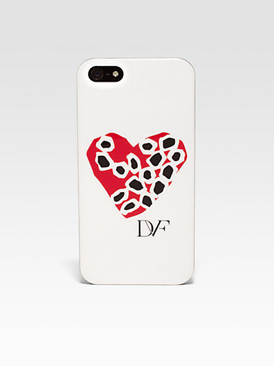 Diane von Furstenberg Stone Heart Hardcase For iPhone 5