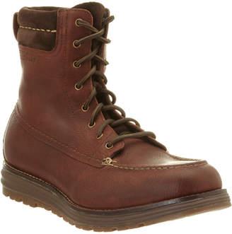 Cole Haan Lockridge Leather Moc-Toe Boot