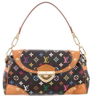 Louis Vuitton Multicolore Beverly MM Black Multicolore Beverly MM