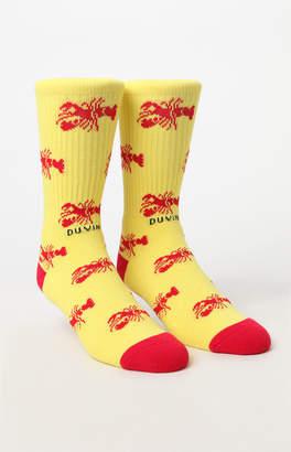 Duvin Design Lobster Crew Socks