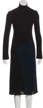 Calvin Klein Long Sleeve Midi Dress