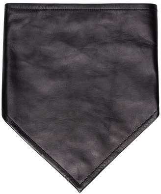 Calvin Klein leather cowboy scarf