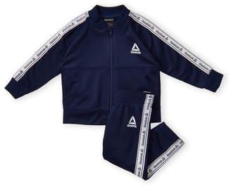 8166f2609 Reebok Infant Boys) Navy Two-Piece Logo Tape Track Suit