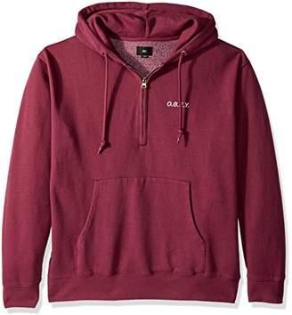Obey Men's Ennet Anorak Pullover Specialty Fleece Sweatshirt