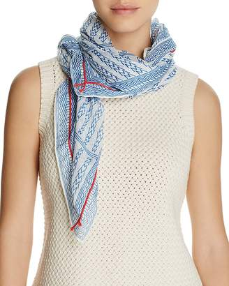 AQUA Geo Square Scarf - 100% Exclusive $68 thestylecure.com