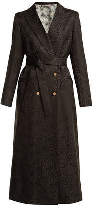 BLAZÉ MILANO Tuiga Burnout silk coat
