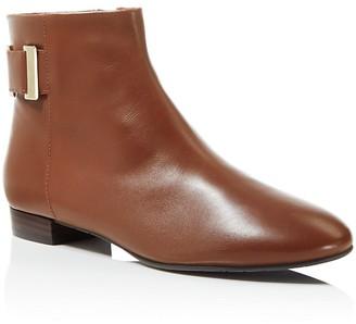 Delman Marie Zip Flat Booties $428 thestylecure.com