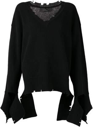 Federica Tosi distressed jumper
