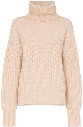 Joseph roll-neck chunky sweater