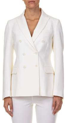 P.A.R.O.S.H. Double Breasted Virgin Wool Coat
